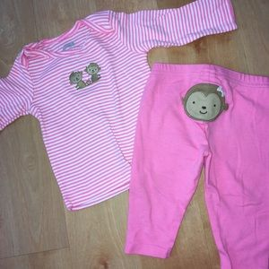 3/$10 NWOT Baby Girls Size 0-3 Months